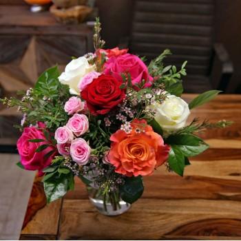Strauß Rosen Garten