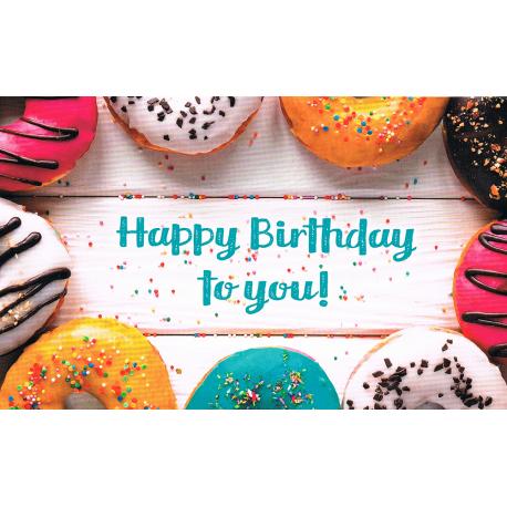 Happy Birthday Karte.Karte Happy Birthday To You